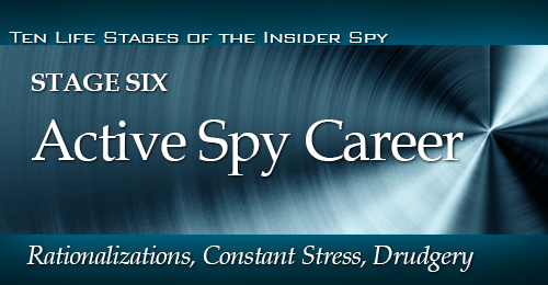 Life Stages of Insider Spy - Stage 6